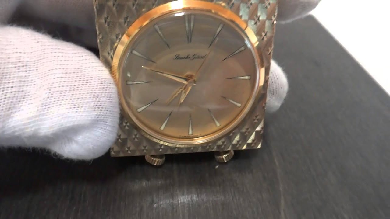 watches ladies xref youtube watch girod bueche yellow gold