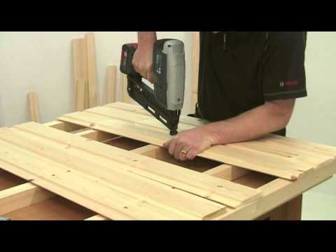 Build it with Bosch Project 4: The Mini Shed: Part 2