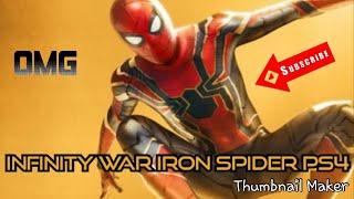 Marvel's Spider-Man PS4 Iron Spider suit cinematic scene