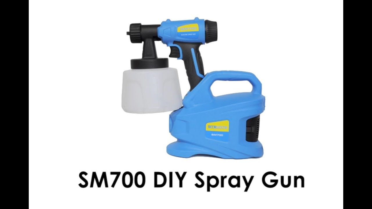 diy paint sprayer electric paint spray gun youtube. Black Bedroom Furniture Sets. Home Design Ideas