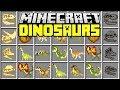 JURASSIC WORLD MINECRAFT MOD | T-Rex, Triceratops, Velociraptors | Minecraft Mods