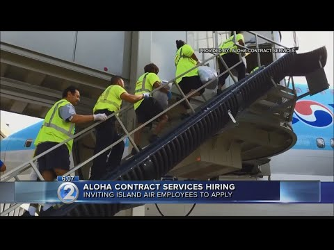 Aloha Contract Services invites former Island Air employees to apply