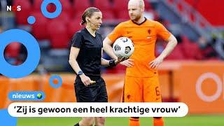 Voor het eerst vrouwelijke scheidsrechter bij wedstrijd van Oranje