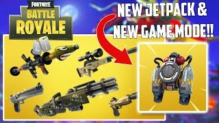 NEW JET-PACK COMING SOON!! NEW UPDATE! (Fortnite Battle Royale)