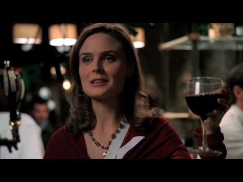 Download Bones 4x09 - Brennan proposes a toast to Booth on his birthday