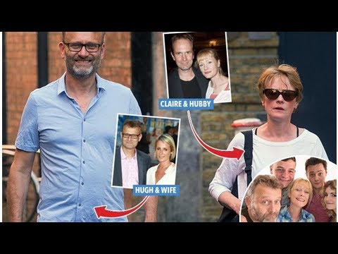 Outnumbered 'parents' Hugh Dennis, 56, and Claire Skinner, 53, are a real-life couple after both ...