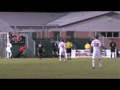 Campbell University Men's Soccer Vs. NC State Highlights And Interviews