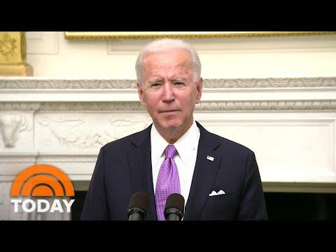 President Biden Pledges 'Full-Scale Wartime Effort' Against Pandemic | TODAY