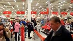 Flash mob @ Citymarket Nummela 19.12.2012