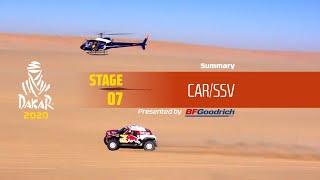 Dakar 2020 - Stage 7 (Riyadh / Wadi Al-Dawasir) - Car/SSV Summary