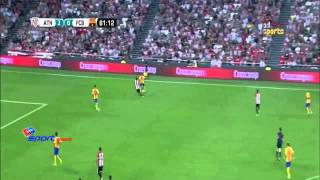 vuclip اهداف مباراة أتلتيك بيلباو 4-0 برشلونة كأس السوبر الأسباني 2015 8 14