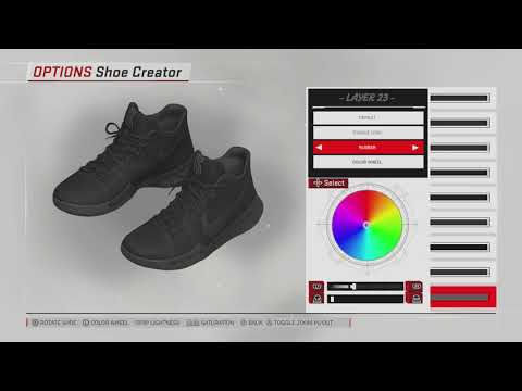 439e2061d92b NBA 2K18 Shoe Creator Kyrie 3 For the Fearless Only