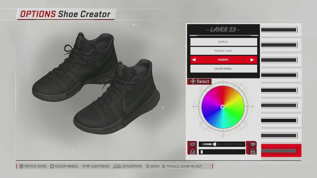 NBA 2K18 Shoe Creator | Kyrie 3 Marble