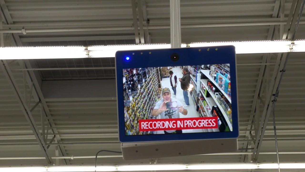 Walmart Security Camera - YouTube