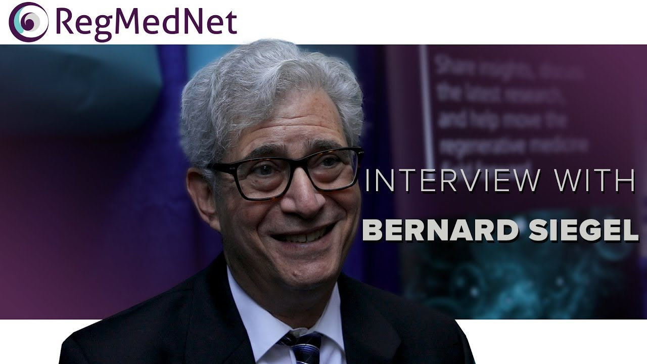 RegMedNet Interview with Bernard Siegel