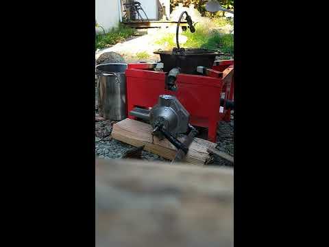 Homemade downrigger cannon balls