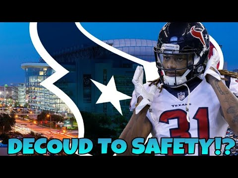 new concept edee0 aeb14 Texans move Treston Decoud to safety!