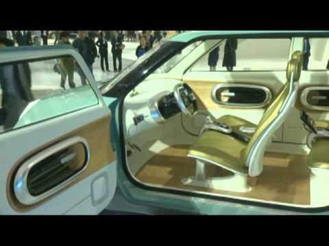 Kia Naimo Electric Concept Debuts In Seoul Youtube