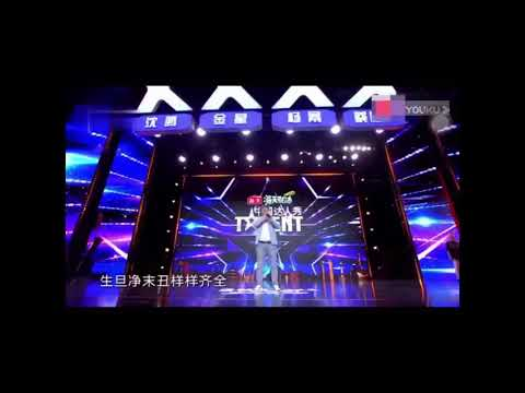 China Got Talent Laughing Man's Real Video