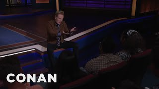 Download Kumail Nanjiani Can't Make It To CONAN - CONAN on TBS Mp3 and Videos