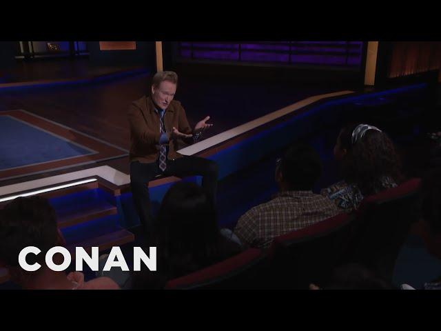 Kumail Nanjiani Cant Make It To CONAN - CONAN on TBS