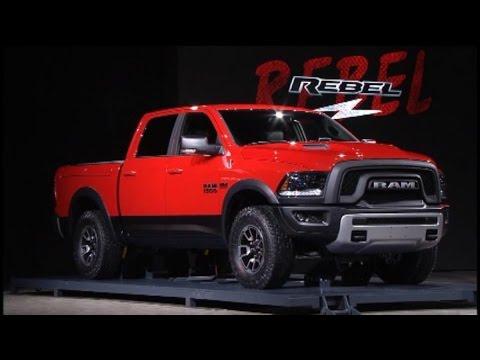 2018 Dodge Rebel >> Fiat Chrysler Unveils New Ram 1500, Rebel Truck Models ...