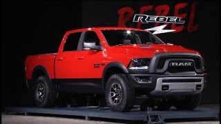 Fiat Chrysler Unveils New Ram 1500, Rebel Truck Models