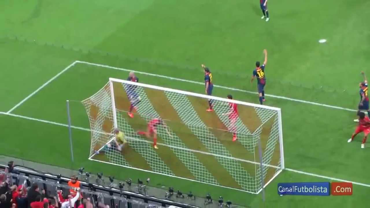 7 0 Agg Bayern Munich Vs Barcelona Champions League 1st May 2013 3 0 4 0 7 0 Agg Youtube