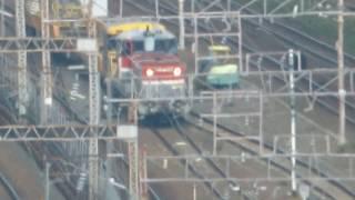 JR貨物 DE101581(国鉄DD51形ディーゼル機関車) 愛知機関区 名古屋駅付近で撮影 2018.10.13