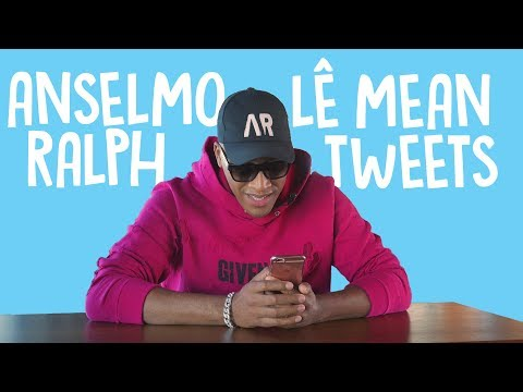 Anselmo Ralph lê Mean Tweets