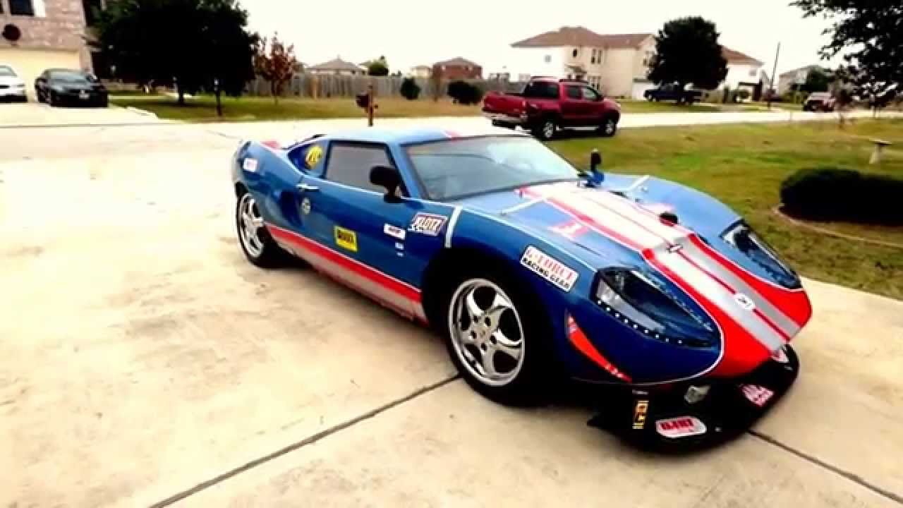 Ford Gt 40 Racer Avenger Kit Car Replica Youtube
