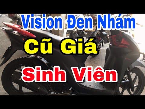 Bán Xe Vision Đen Nhám Cũ Giá Rẻ Sinh Viên - Chuyên Xe Cũ Tiền Giang