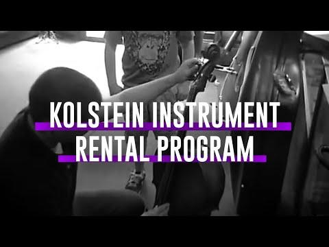 The Kolstein Music Instrument Rental Program