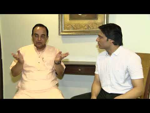 Dr. Subramanian Swamy exclusively on Patrika Tv