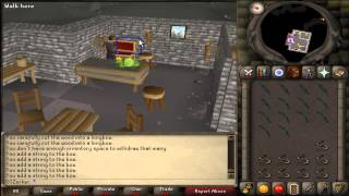Old School RuneScape Tips 8 | Fastest Way to String Bows! | OldSchoolZerker