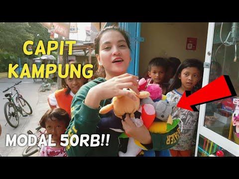 CAPIT KAMPUNG #8 !! MODAL 50RB MENANG BANYAK BONEKA!! BIKIN RUGI PEMILIK TOKONYA!!HEBOH BANGET..