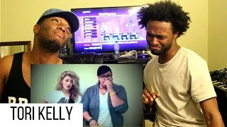 thinkin bout you acousticbeatbox cover tori kelly angie girl reaction
