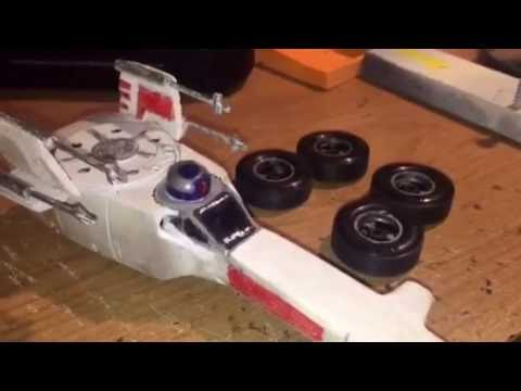 2016 Star Wars X Wing Fighter Pinewood Derby Car Youtube
