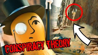 Mr. Peanut CONSPIRACY THEORIES (Superbowl ad)