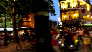 Walk from Leicester Square to the Red Light District in Soho at Night