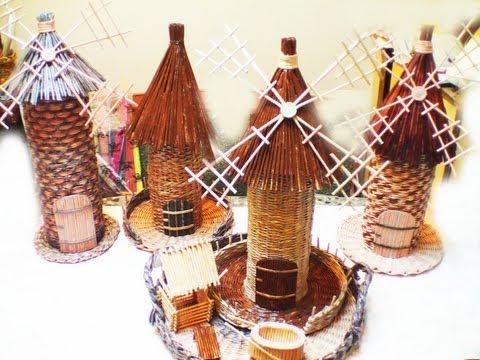 плетение из газетных трубочек мастер класс елены тищенко