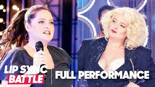 "Lauren Ash Performs Robyn's ""Call Your Girlfriend"" & Madonna's ""Express Yourself"" 