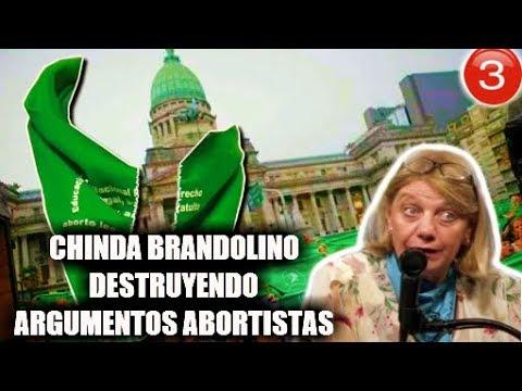 IMPERDIBLE Chinda Brandolino Destruyendo Las Falacias Del Aborto, Feminismo y Progresismo
