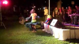 Tamr Henna Ensemble performing Fakkarooni in Hawaii State Art Museum