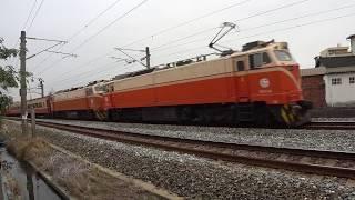 509C次迴送列車通過大林鎮中興路地下道