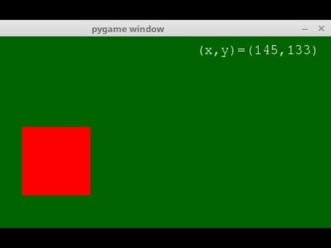How to display a text in pygame window