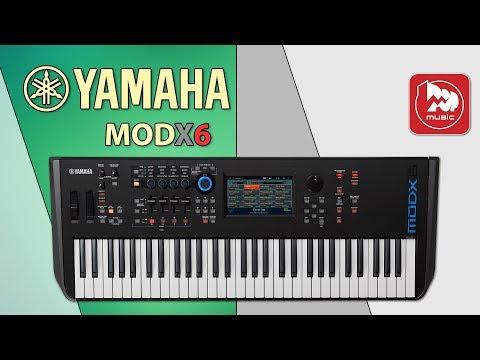 Синтезатор YAMAHA MODX6 (модель новинка 2018 года)