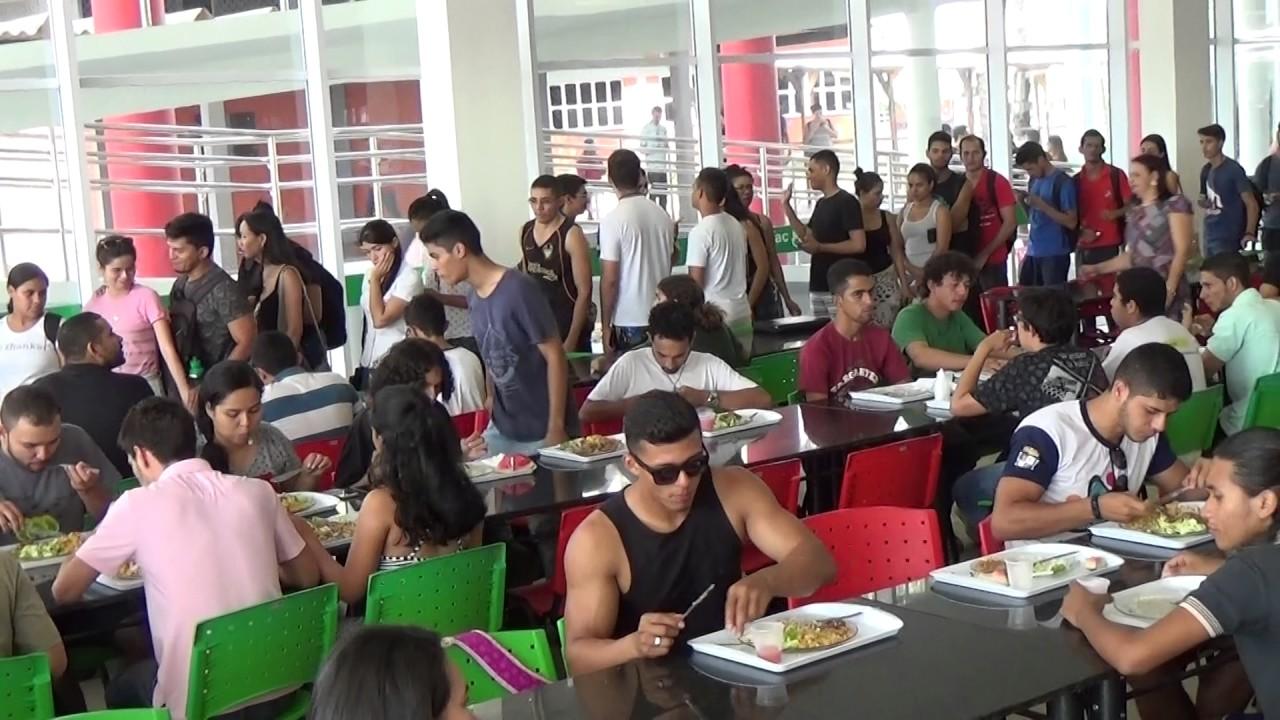 Resultado de imagem para restaurante universitário ufac