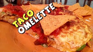 Healthy Taco Omelette Recipe (bodybuilding/protein)