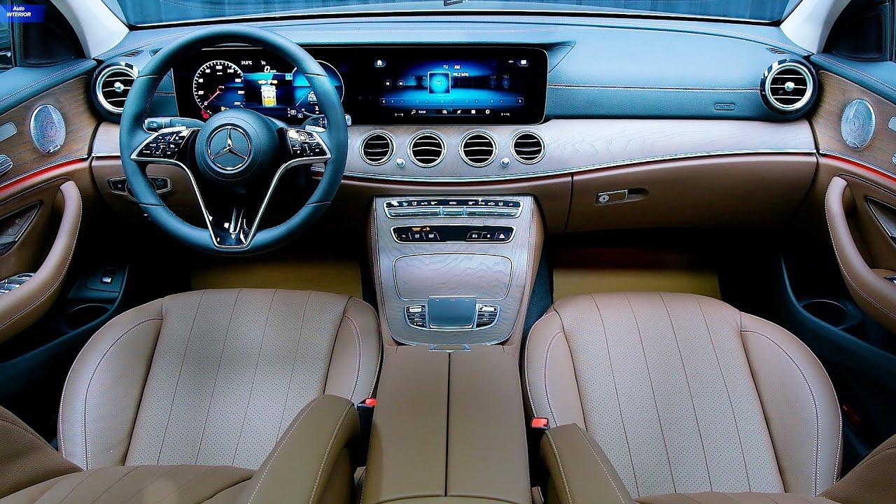 2021 Mercedes E-Class Exclusive - INTERIOR